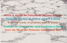ITALIA 1985 ESPOSIZIONE MONDIALE DI FILATELIA - Borse E Saloni Del Collezionismo