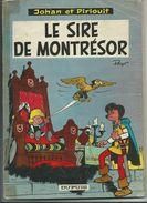 Johan Et Pirlouit 8 Le Sire De Montrésor PEYO édition Brochée Ancienne - Johan Et Pirlouit