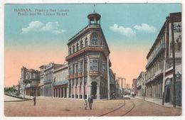 HABANA - Prado Y San Lazaro - Prado And St. Lazaro Street - Cuba