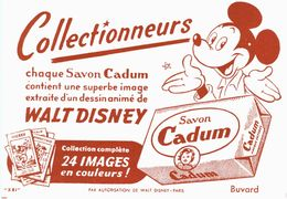 Vieux Papiers - Buvard - Cadum Walt Disney - 3 Buvards - Waschen & Putzen