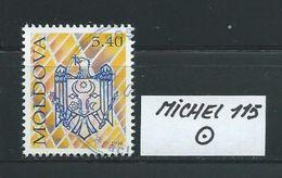 MOLDAWIEN  MICHEL 115 Rundgestempelt Siehe Scan - Moldawien (Moldau)