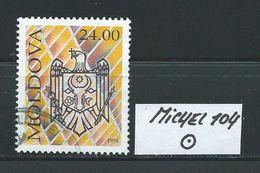 MOLDAWIEN  MICHEL 104 Rundgestempelt Siehe Scan - Moldawien (Moldau)
