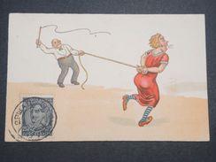 YOUGOSLAVIE - Carte Postale Humoristique , Femme Fouettée - L 10042 - Yougoslavie