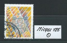 MOLDAWIEN  MICHEL 125 Rundgestempelt Siehe Scan - Moldawien (Moldau)