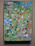 PUZZLE JUMBO - (1500 P) VAN HAASTEREN - GOLF - Puzzle Games