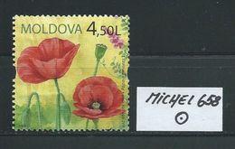 MOLDAWIEN  MICHEL 658 Rundgestempelt Siehe Scan - Moldawien (Moldau)