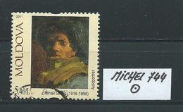 MOLDAWIEN  MICHEL 744 Rundgestempelt Siehe Scan - Moldawien (Moldau)