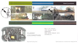 Great Britain 2004 Classic Locomotives FDC - FDC