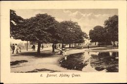 Cp Barnet London City, Hadley Grren, Parkanlage, Teich - London
