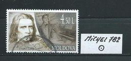 MOLDAWIEN  MICHEL 782 Rundgestempelt Siehe Scan - Moldawien (Moldau)
