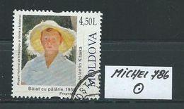 MOLDAWIEN  MICHEL 786 Rundgestempelt Siehe Scan - Moldawien (Moldau)