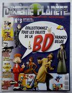 DIXIEME PLANETE N° 3 MAGAZINE TINTIN ASTERIX LUCKY LUKE SPIROU BLAKE ET MORTIMER VALERIAN GASTON ... - Beeldjes
