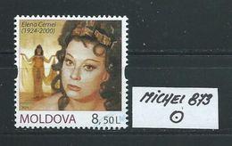 MOLDAWIEN  MICHEL 873 Rundgestempelt Siehe Scan - Moldawien (Moldau)