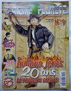 DIXIEME PLANETE N° 9 MAGAZINE INDIANA JONES 20 ANS DE PRODUITS DERIVES - XIII - CORTO MALTESE - Harry POTTER .... - Figurines