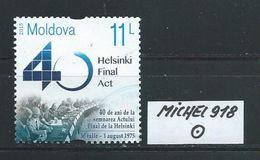MOLDAWIEN  MICHEL 918 Rundgestempelt Siehe Scan - Moldawien (Moldau)