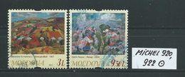 MOLDAWIEN  MICHEL 920,922 Rundgestempelt Siehe Scan - Moldawien (Moldau)