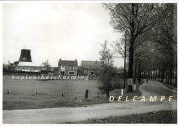 BARLO Bij Aalten (Gld.) - Moulin - Originele 'moederfoto' T.b.v. Prentkaart (1955) Van De Verdwenen Molen Grevink - Plaatsen