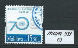 MOLDAWIEN  MICHEL 931 Rundgestempelt Siehe Scan - Moldawien (Moldau)