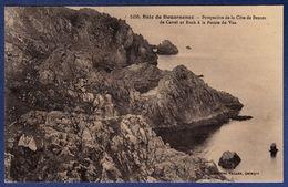 29 BEUZEC-CAP-SIZUN Baie De Douarnenez, Perspective De La Côte De Beuzec De Castel Ar Roch à La Pointe Du Van - Beuzec-Cap-Sizun