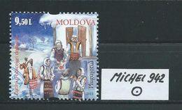 MOLDAWIEN  MICHEL 942 Rundgestempelt Siehe Scan - Moldawien (Moldau)