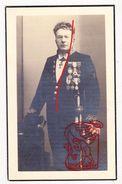 DP Foto Politie Agent Commissaris Edmond L. Bocque ° Gent 1882 † 1943 X M. Delem / Kostuum Medaille Degen - Devotieprenten