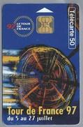 FR.- Telefoonkaart. France Telecom. Le Tour De France 1997. - Telefoonkaarten