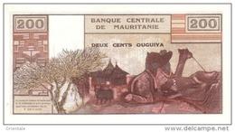 MAURITANIA  P. 2a 200 O 1973 UNC - Mauritania