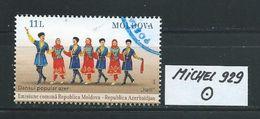 MOLDAWIEN  MICHEL 929 Rundgestempelt Siehe Scan - Moldawien (Moldau)