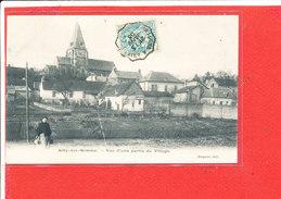 80 AILLY Sur SOMME Cpa Animée Une Partie Du Village                        Edit Crognier - France