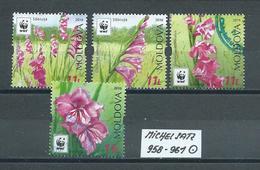 MOLDAWIEN  MICHEL SATZ 958 - 961 Gestempelt Siehe Scan - Moldawien (Moldau)