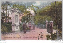 Scherpenheuvel Rozenkransweg 1926 Postzegel Stempel Montaigue - Scherpenheuvel-Zichem