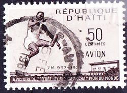 Haiti - S. Cator, Weltrekordler 1928 Im Weitsprung Mit 7,93 M (MiNr: 487) 1958 - Gest Used Obl - Haiti