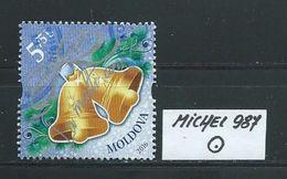 MOLDAWIEN  MICHEL 987 Rundgestempelt Siehe Scan - Moldawien (Moldau)