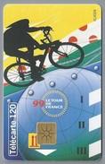 FR.- Telefoonkaart. France Telecom. Le Tour De France 1999. - Telefoonkaarten