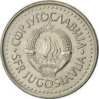 Yougoslavie, 10 Dinara, 1986, SUP, Copper-nickel, KM:89 - Joegoslavië