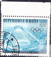 Haiti - Olympiade Rom; Stadion In Athen Von 1896 (MiNr: 632) 1960 - Gest Used Obl - Haiti