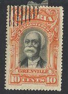 Liberia, 10 C. 1903, Sc # F11b, Mi # 85, Used - Liberia
