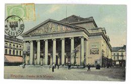 CPA BELGIQUE BRUXELLES THEATRE DE LA MONNAIE - Monuments, édifices