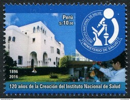 Peru (2017) - Set -  / Medecin - Health - Microscope - Geneeskunde