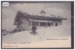 CHALET SUISSE EN HIVER - TB - Suisse