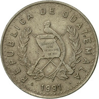 Guatemala, 10 Centavos, 1991, TTB, Copper-nickel, KM:277.5 - Guatemala