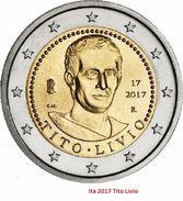 """ITALIEN 2 Euro 2017 """"Titus Livius"""" Aus Rolle - Italia"""