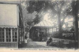 77-SAMOIS SUR SEINE-GRAND HOTEL BEAU RIVAGE-N°C-423-C/0335 - Samois