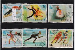 Liberia 1980, Sports, Complete Set, Vfu. Cv 5 Euro - Liberia