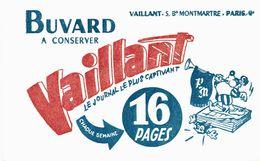 Vieux Papiers - Buvard - Vaillant Le Journal Le Plus Captivant - 2 Buvards - Enfants