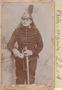 Photo C.d.v. : Militaire  ( Cavaliers  A Definir) Photo.prud'homme - Lure - Guerra, Militares