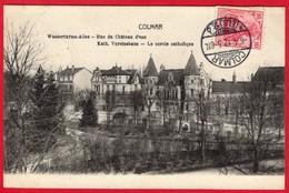 -- COLMAR (Haut Rhin) - RUE DU CHÂTEAU D'EAU - LE CERCLE CATHOLIQUE -- - Colmar
