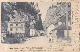 Frontiere Franco Suisse Le Col Des Roches. Hotel Federal Col De Roches   1902 - Pontarlier