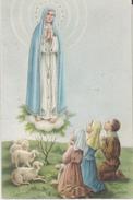 CARTOLINA MADONNA DI FATIMA CHE SI VENERA NELLA CHIESETTA DI TARANTO - Vergine Maria E Madonne