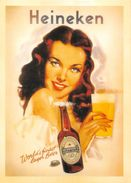 Publicité Bière Heineken Illustrateur - Publicité